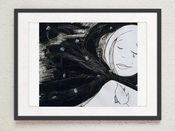 "Painting - ""Night Wind"""
