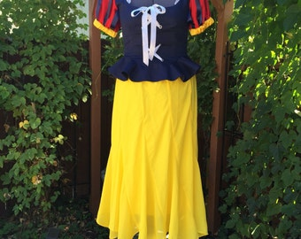 Snow White Inspired Costume, size Large