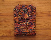mens vintage Polo Sport loop collar aloha shirt