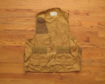 mens vintage Chief hunting vest