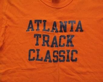 mens vintage Atlanta track t shirt