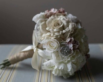 Custom Made Bridal Bouquet - Made to Order