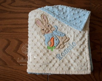 Knitting Pattern For Peter Rabbit Blanket : Peter rabbit bedding Etsy