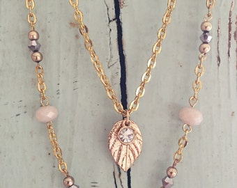 Eternity layered Necklace