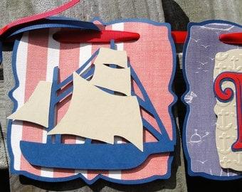 Happy Birthday Sailing Banner