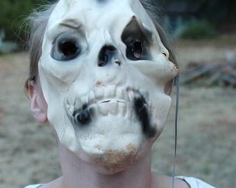 Rubber Skull Mask 1950s