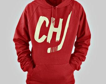 Chicago Blackhawks Hoodie CHI Hockey Hooded Sweatshirt