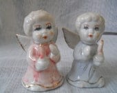 Angel Salt and Pepper Shakers - vintage, collectible