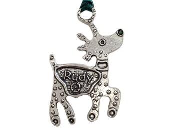 Reindeer Ornament - Rudy