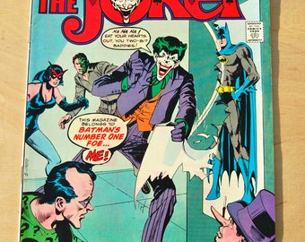 DC bronze age comic book. The Joker. Vol 1 # 1 May 1975