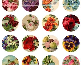 Floral Magnets Pins, Fridge Magnets, Party Favors, Gift Sets,