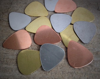 Guitar Pick Add-On, Extra Guitar Pick, Add Tag, Tag Add On, Stainless Steel Guitar Pick, Brass Guitar Pick, Copper Guitar Pick
