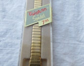 Speidel Twist On Vintage Watch Band Gold Color Metal Unopened New Stock
