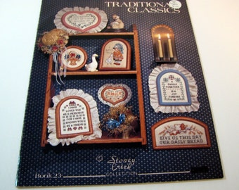 Stoney Creek Collection - Book 23 - Traditional Classics to Cross Stitch 1985
