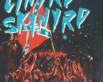 Authentic  Skynyrd Tour Poster