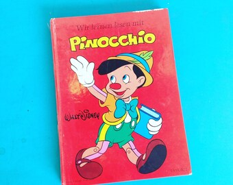 Wir Lernen Lesen Mit Pinocchio German Walt Disney Children's Book