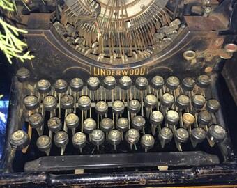 Antique Underwood Typewriter, Early 1900