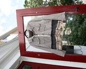 Valentine's Nostalgia Jacket /Shabby Chic / Eco /Rustic / Upcycled / Boho / Country living / Cottage Chic