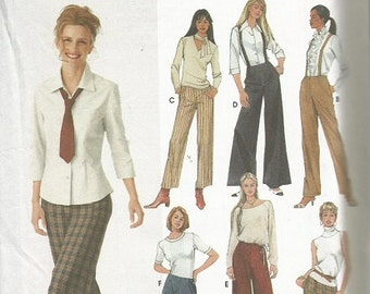 Simplicity 9826 Misses Pants Pattern  SZ 6-12