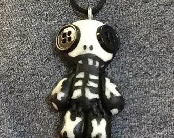 Stitchey Skully glow-in-the-dark