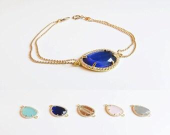 Gemstone Bracelet   Layering Bracelet   Delicate Gold Bracelet   Bridesmaids Bracelet   Bridesmaids Gift   Gifts for her