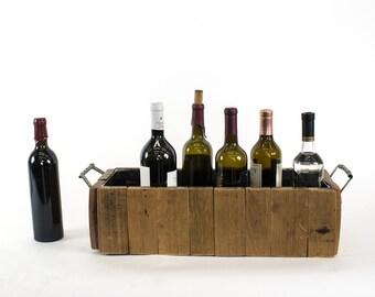 PORTA - Porter - Wine Barrel Stave Bottle Carrier