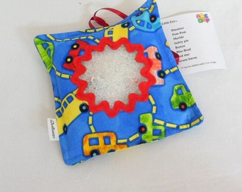 Boys I Spy Bag with Alphabet Game for Alphabet Learning Find the Hidden Objects I Spy Pillow Quiet Learning  Handmade I Spy Pillow