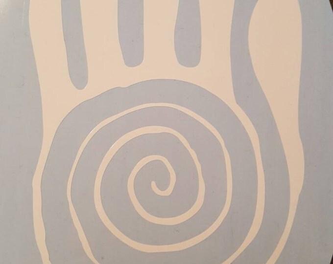 Healing Hand Vinyl Decal Graphic Sticker