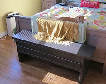 4 foot Narrow Trunk / 4 foot Bench with Storage