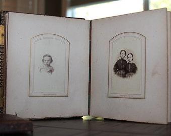 1860s Civil War Era Album 45 Photos ~ Philadelphia New York Girl with Doll