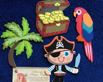 Pirates Plug Covers Socket Outlet Decorative Kids Room Decor