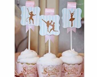 Sugar Plum Fairy Cupcake Kit by Loralee Lewis