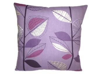 "Purple Grape Designer Pillowcase Sham Slips Accent Throw Pillow. ONE x 16"" (40cm)"