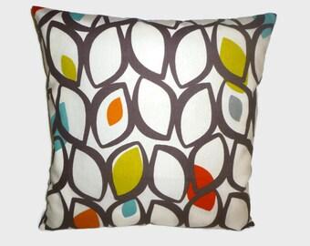 "Orange 4 CHOICES Mix Match Designer Orange Pillow Cushion Cover Accent Slip Scatter ONE 16"" (40cm) ONE x 16"" (40cm)"