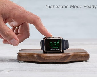 CLEARANCE - Timber Night Stand for Apple Watch - Walnut