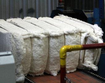 Organic Cotton, Raw Fiber, 100% Organic, Grown in USA