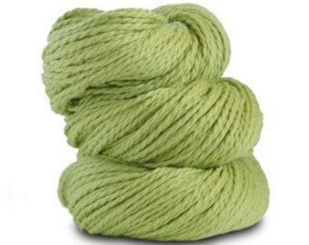 Organic Cotton Yarn Worsted, 150 Yards, Wasabi
