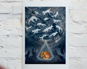 Ghosts // Signed A3 print
