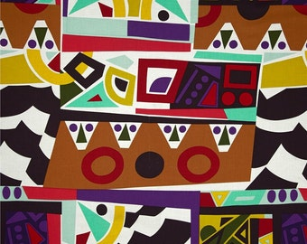 Per Yard African Inspired Designer Fabric By Alexander Henry, for Apparel, Decorating,Crafting, Apparel