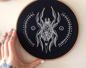 Spider Embroidery - Rachel Welsby