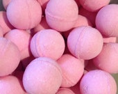 Pink Sugar Bath Bomb 2oz -Natural, Mango Butter,Cocoa Butter, Luxury