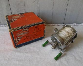 Vintage Fishing Reel with Box Shakespeare-Pflueger