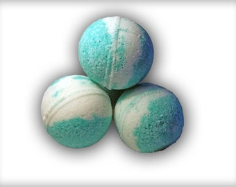 Lily of the valley scented bath bombs.