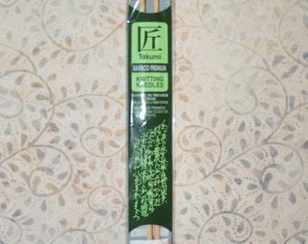 Clover US 4 / 3.5mm Straight Bamboo Knitting Needles