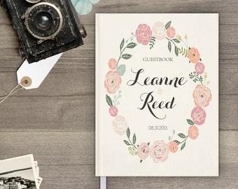Guest book ideas / Guestbook ideas / Unique guest book / Wedding Guest Book / Wedding Guestbook / Vintage personalized guest - gb0025