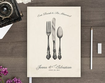 Sign in book for wedding, Vintage wedding guest book, Guestbook, Different Sizes gb0024