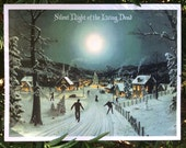 Zombie Christmas, Christmas Cards, Funny Christmas Cards, Alternate Histories, Zombies, geekery, Holiday Cards, Christmas Scene