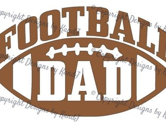 Football SVG Football Dad svg Mom svg  digital cut file  svg Instant download