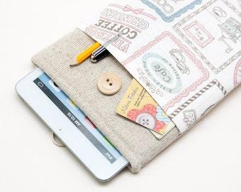 White Linen Kobo Aura One Case. Kobo Aura H2O case. Kobo Aura sleeve. Kobo Aura edition 2 sleeve. Kobo Aura H2O edition 2 case.