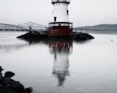 CUSTOM 16x24 Nautical Lighthouse Photograph Sleepy Hollow Light Print